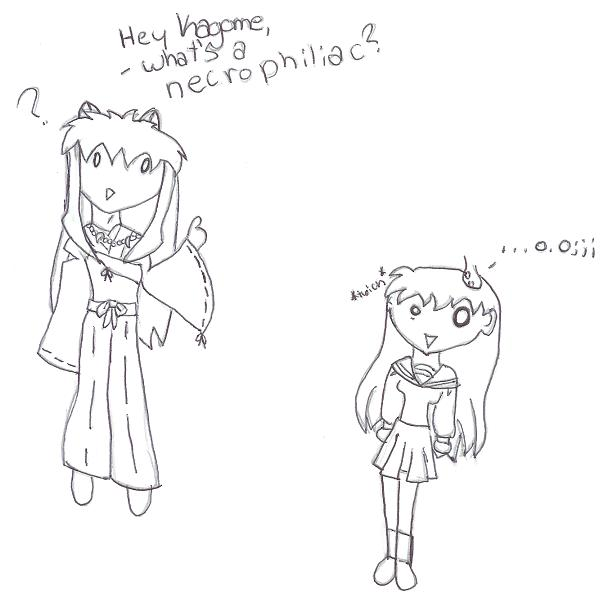 "Inuyasha's ""interesting"" question by animelover85"