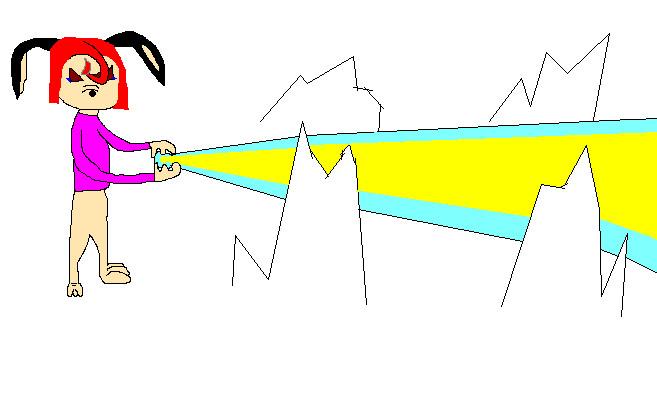 Luna Puppy Using Her Power by animeloverOIO