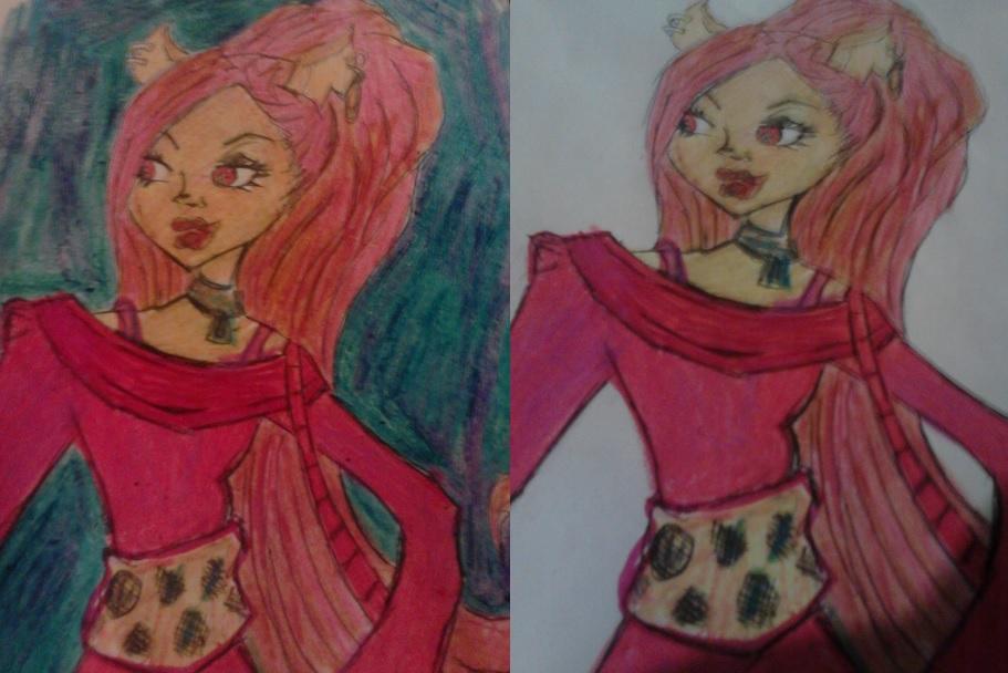 claude wolf  Monster High by artfreakjess1