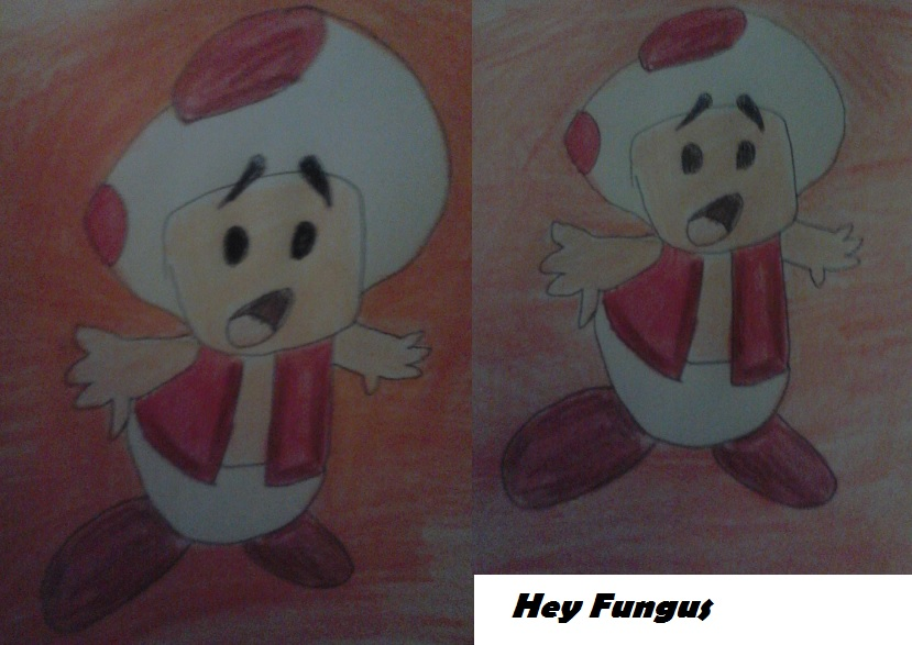 hey, fungus by artfreakjess1