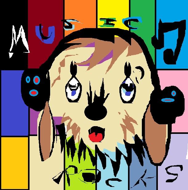 doodle paint music rocks by artfreakjess1