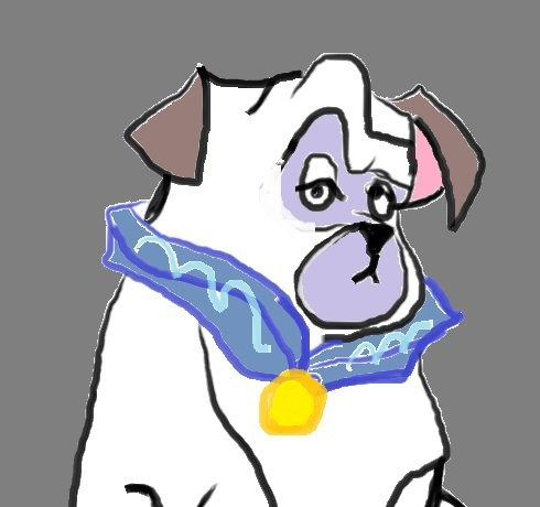 disney dog by artfreakjess1