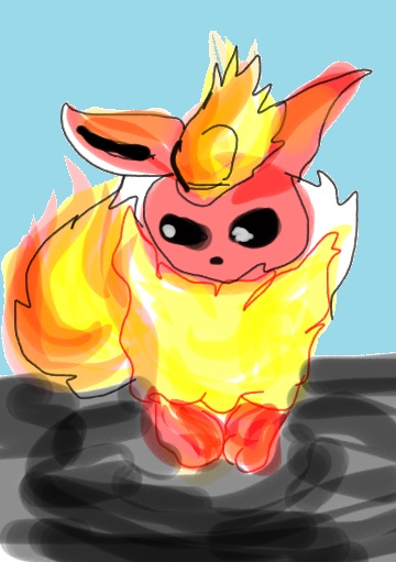 Flareon by artfreakjess1