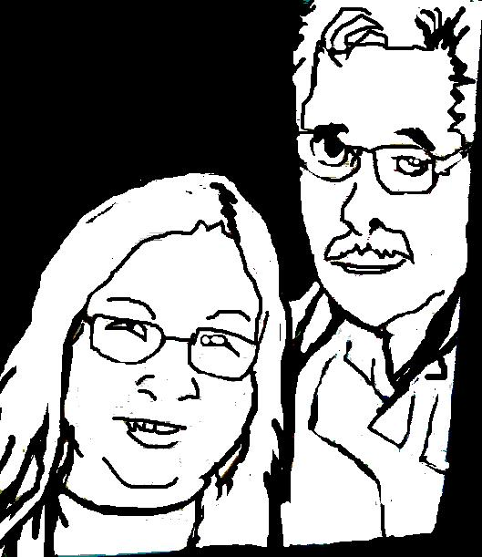 Loving Grandpa and Grandma by artfreakjess1