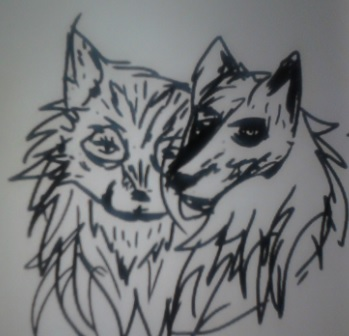 wolves made up by artfreakjess1