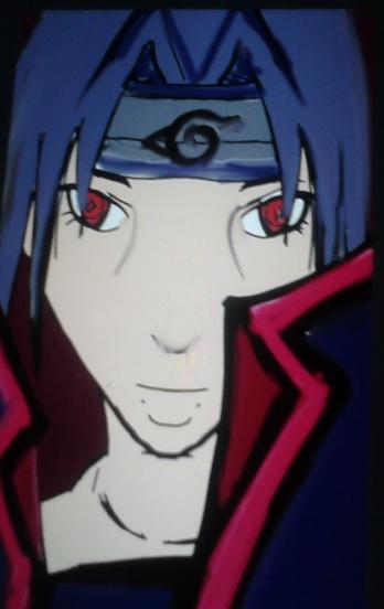 sasuke naruto by artfreakjess1