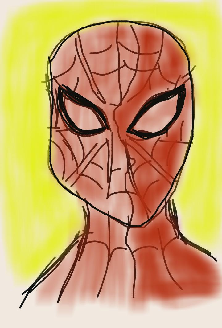 Spiderman by artfreakjess1