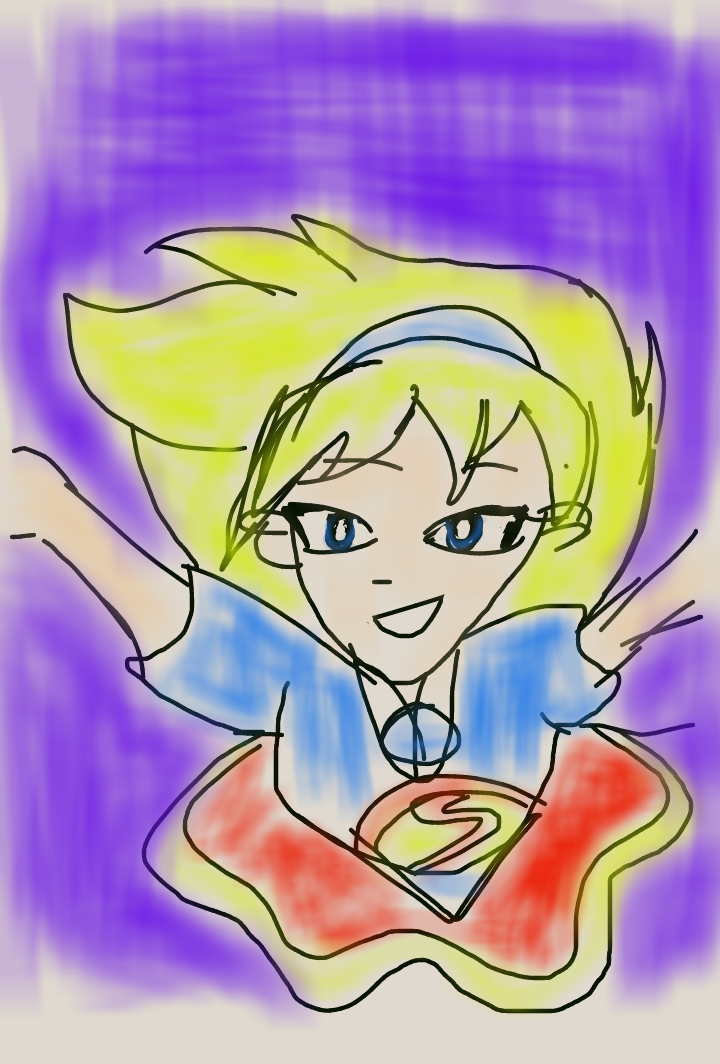Supergirl by artfreakjess1