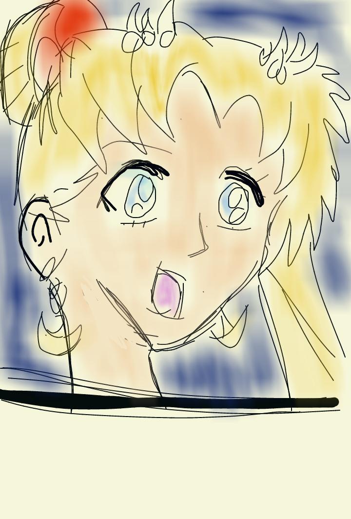 Sailor Moon by artfreakjess1