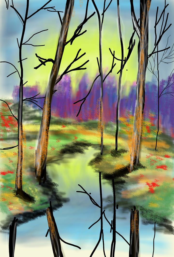 Landscape by artfreakjess1