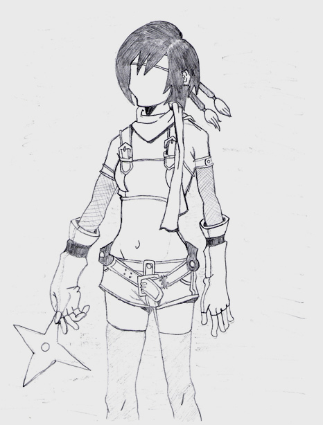 ~*Yuffie*~ by artyfowl