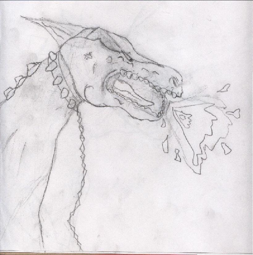 Jailed Dragon by asdf123456