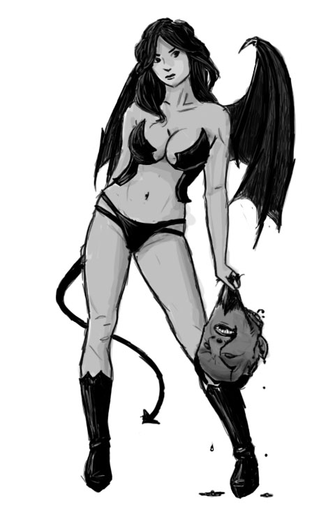 Succubus by ashbrook