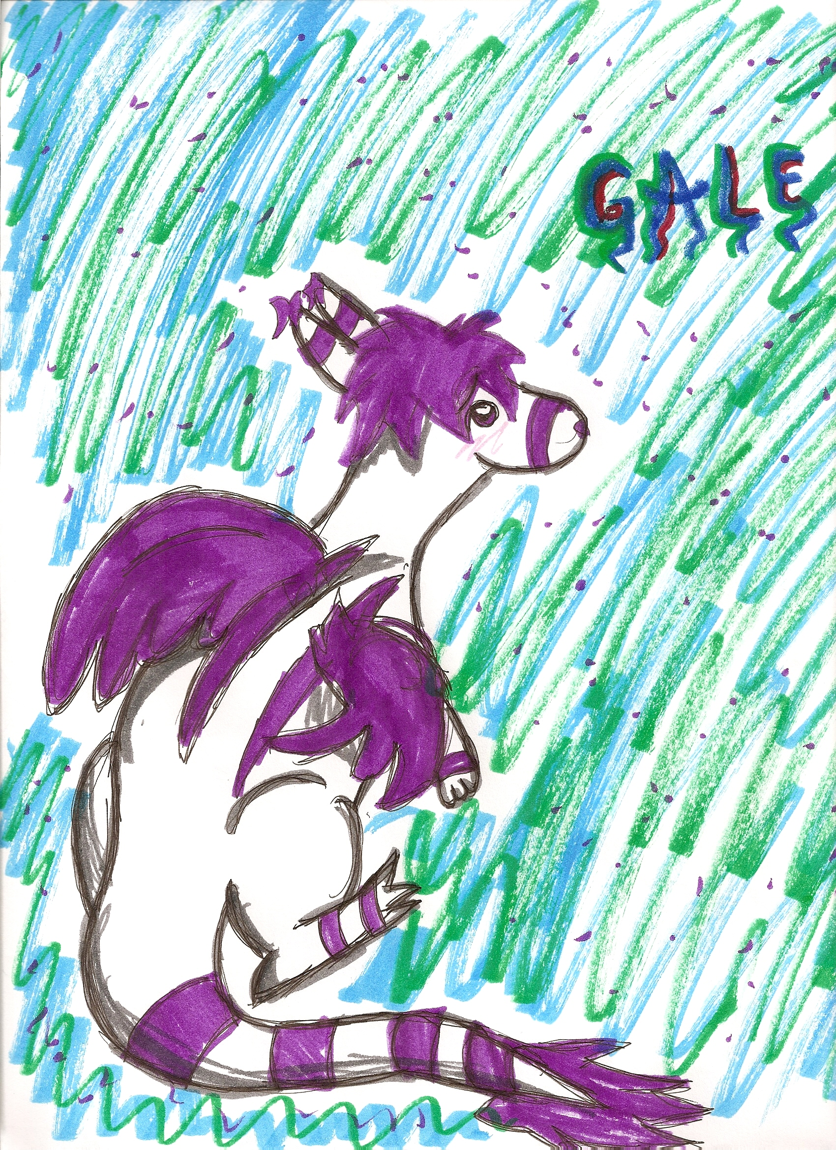Gale *Request for CrescentDragonDeity* by B
