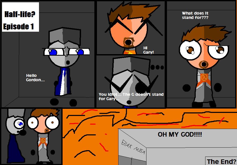 Chibi) Half-Life? Ep.1 by B1x