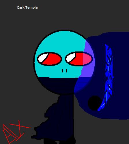 Chibi Starcraft: Protoss Dark Templar by B1x