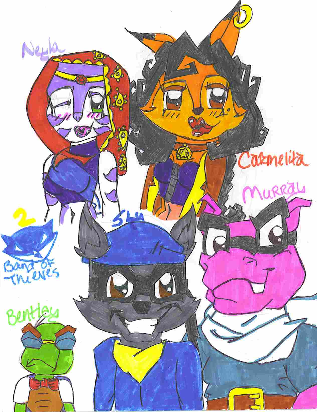 sly 2 gang by BabyGirl01