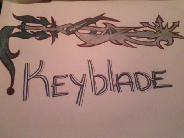 Kimoko's keyblade by Baronsgirl