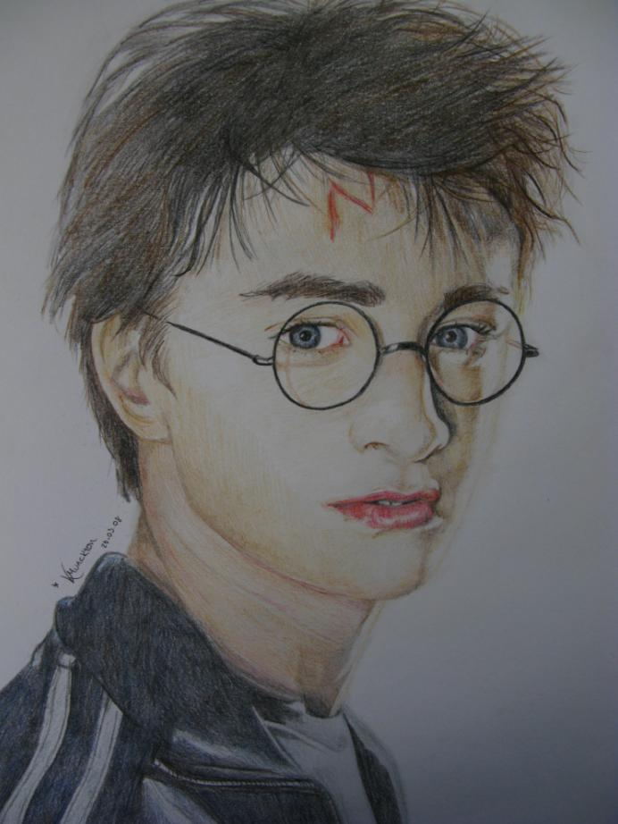 Daniel Radcliffe as Harry Potter by Beautiful_Pain