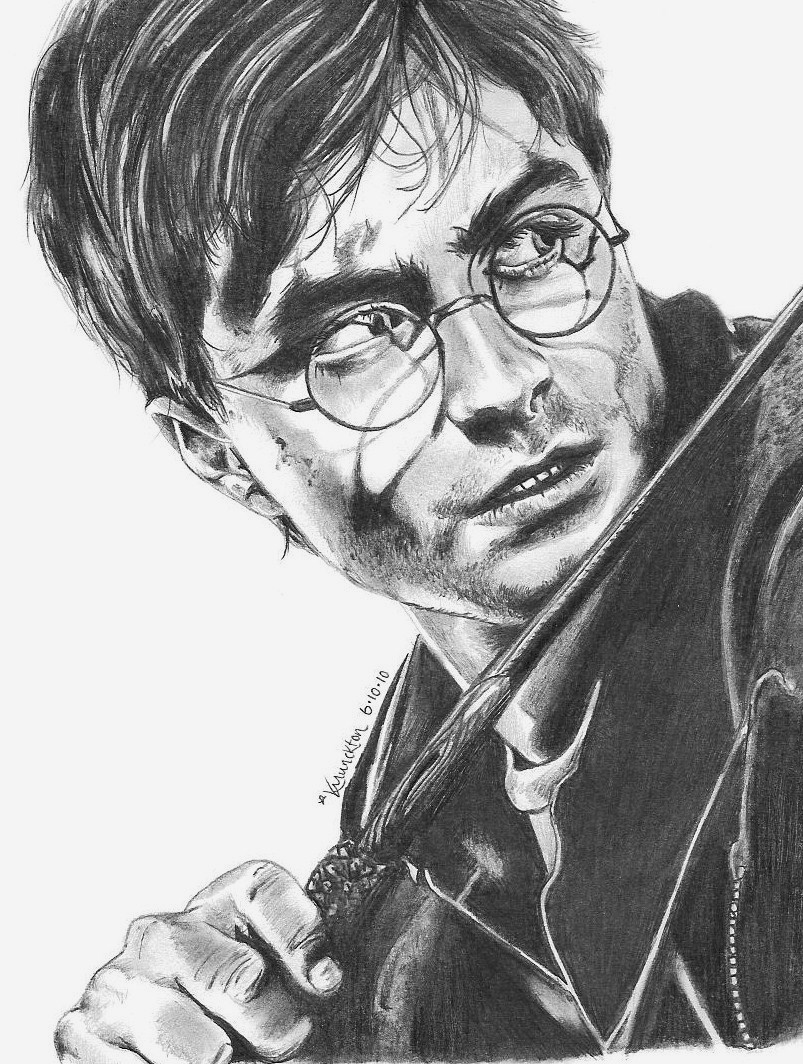 Daniel Radcliffe as Harry by Beautiful_Pain