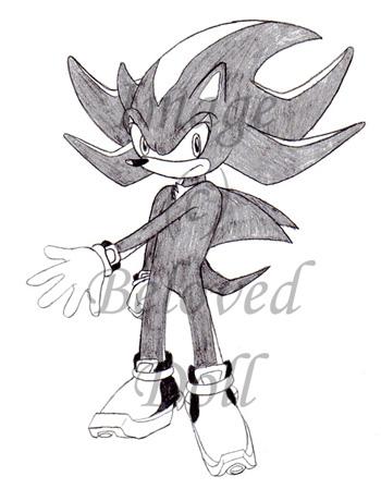 Shadow the Hedgehog by BelovedDoll