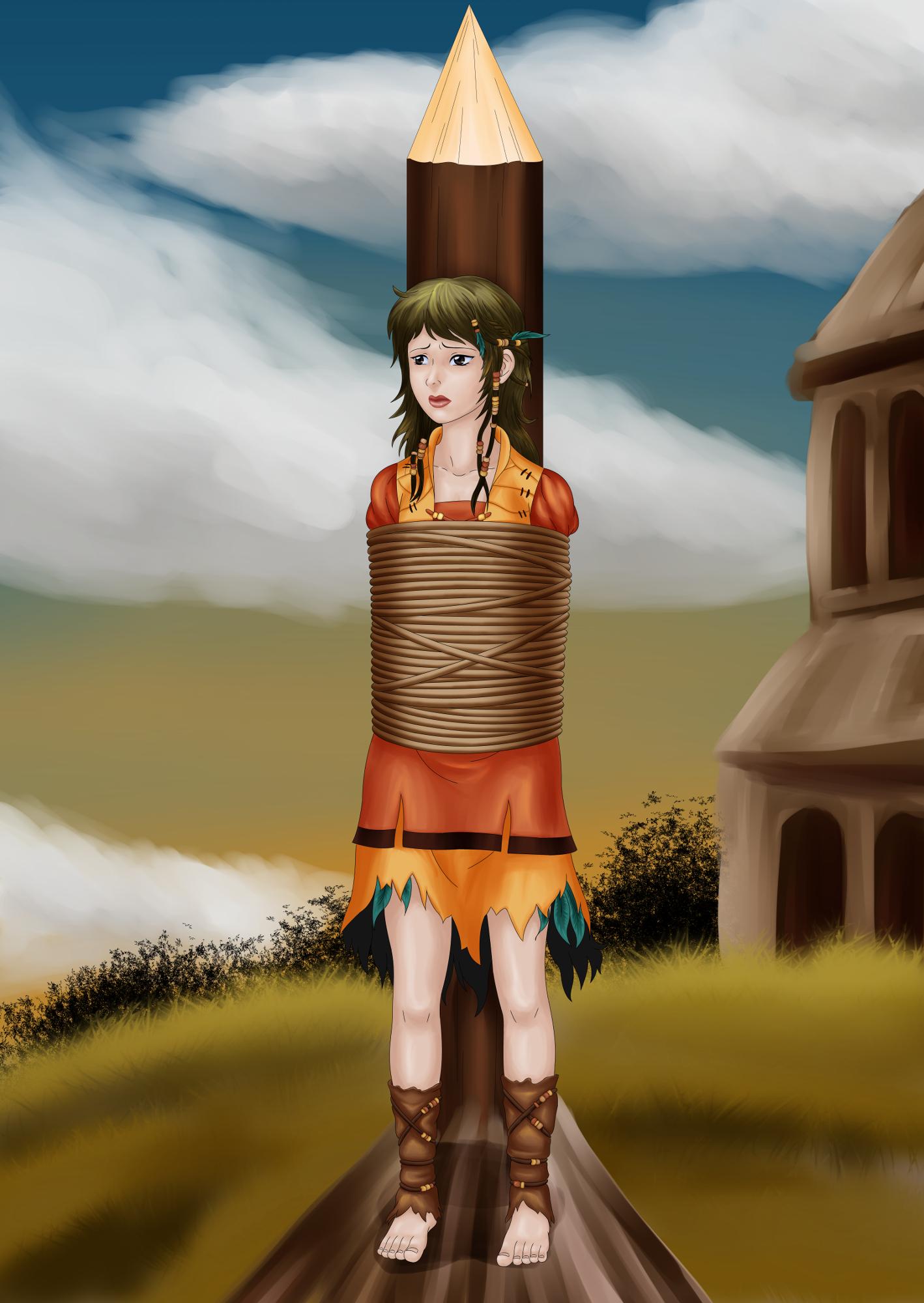Nuri The Witch?! by BenikoBondage