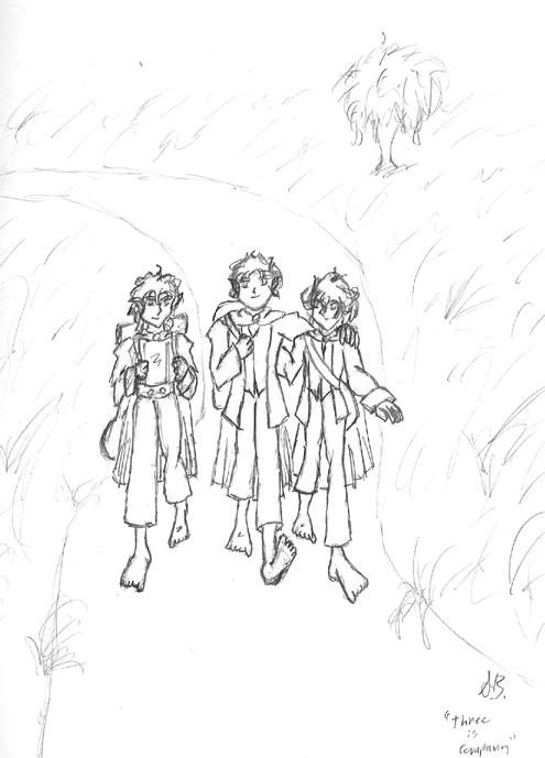 Three Is Company by Berzerkerprime