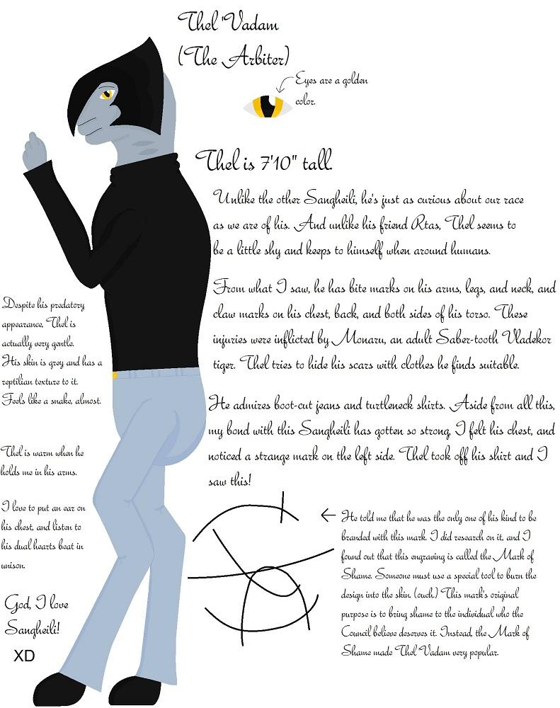 Thel 'Vadam (The Arbiter) by BioElite