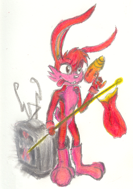 My Rabbit on jazz 2 by BlA5tFiRe