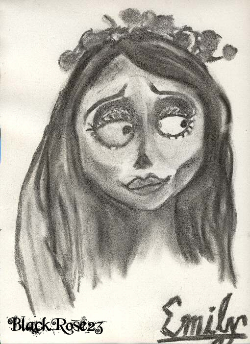 Emily the Corpse Bride by BlackRose23