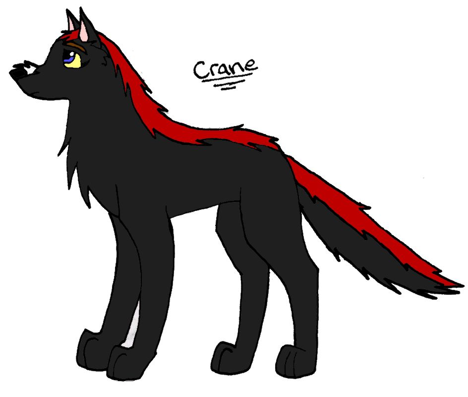 request for LunarMoonEye14) Crane by BlackSpiritWolf
