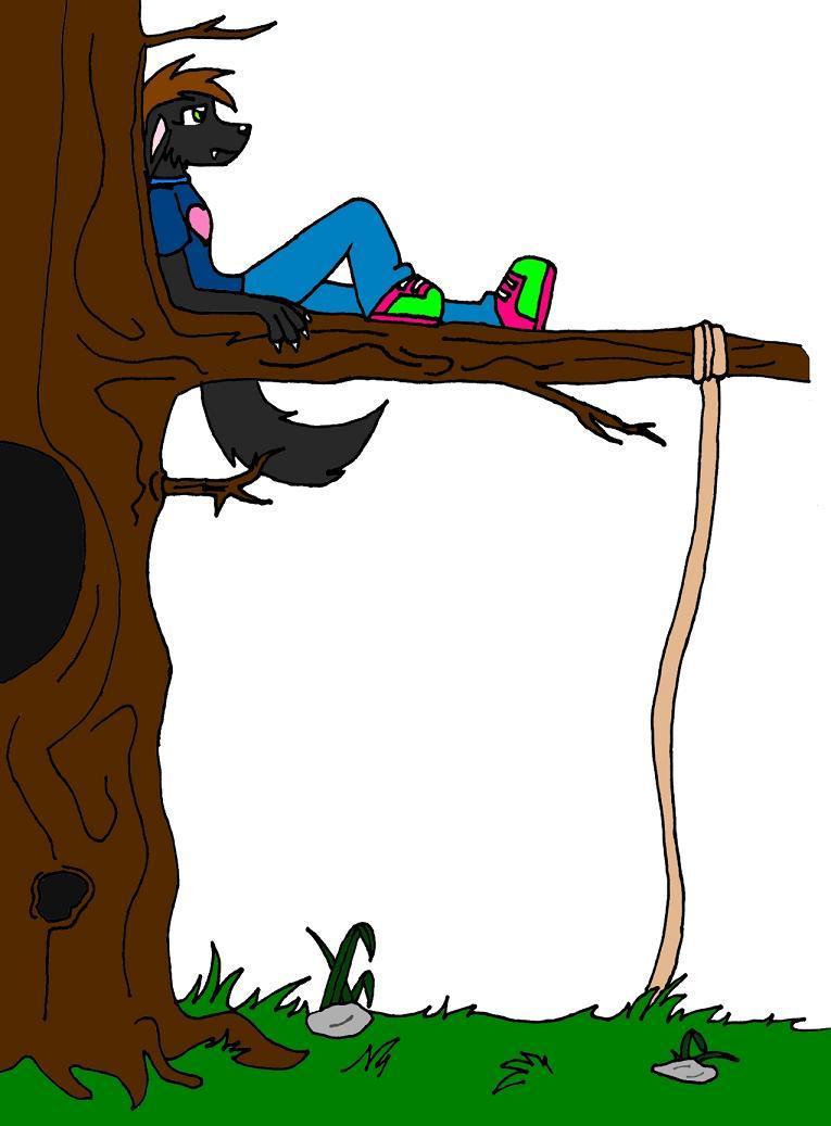 The tree by BlackSpiritWolf