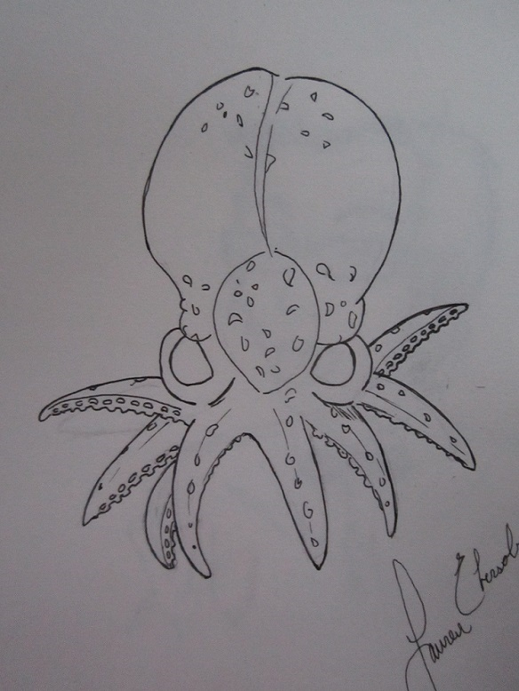 Baby Octopi by BlackWingedAngel009