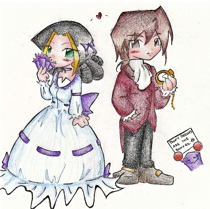 Eshe and Ryes - Victorian Style by Black_Breeze