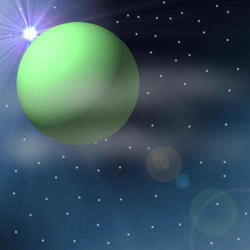 My planet! by Blackwolfmoon