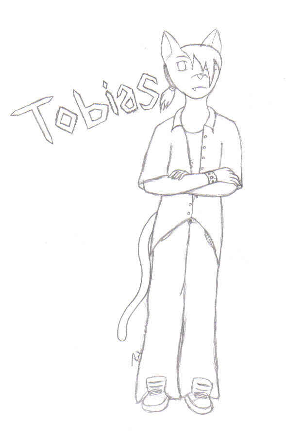 Tobias(sketch) by Bladed_YinYang