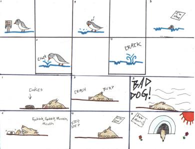 Comics 1 & 2 by Blaise_chan