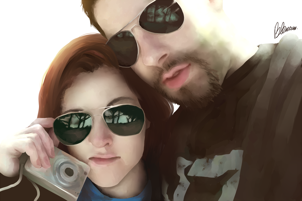 Lolrenaynay and Gassymexican by Blencem