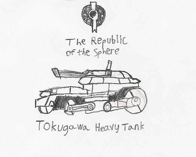 Tokugawa Heavy Tank by Blitz_Jade_Hawk