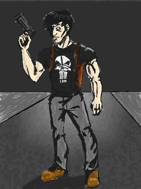 Revamped Punisher by Blix_Howlett