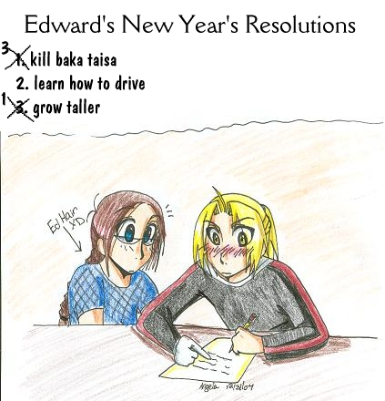 Happy New Year's Picture =D by BloodRoses1619
