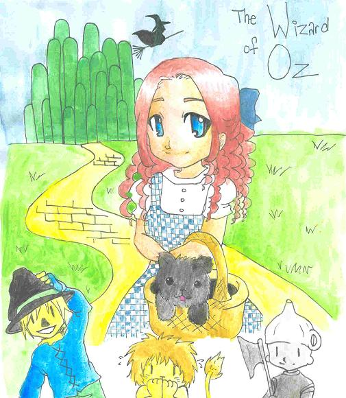 The Wizard of Oz! by BloodRoses1619