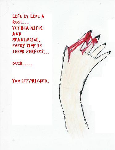 Life Is Like A Rose... by BloodySunAngel