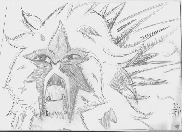 Entei by BlossomHeart