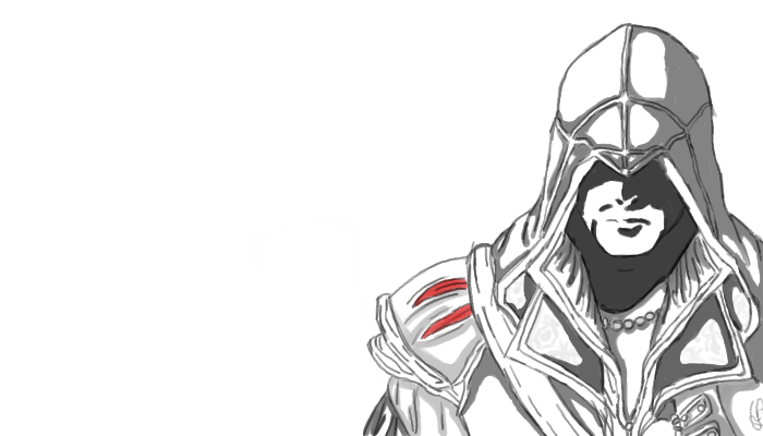 Assassin Creed; Ezio by BlossomHeart