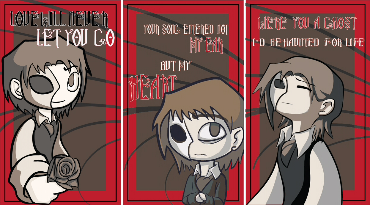 Phantom of the Opera Valentines by BlueRooster