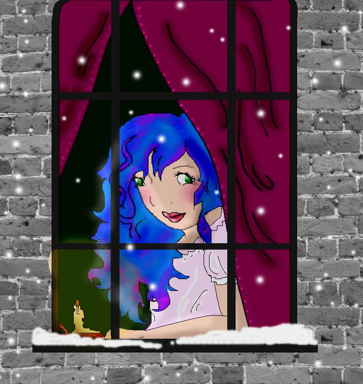 Warm in the Winter by Blue_Haired_Girl