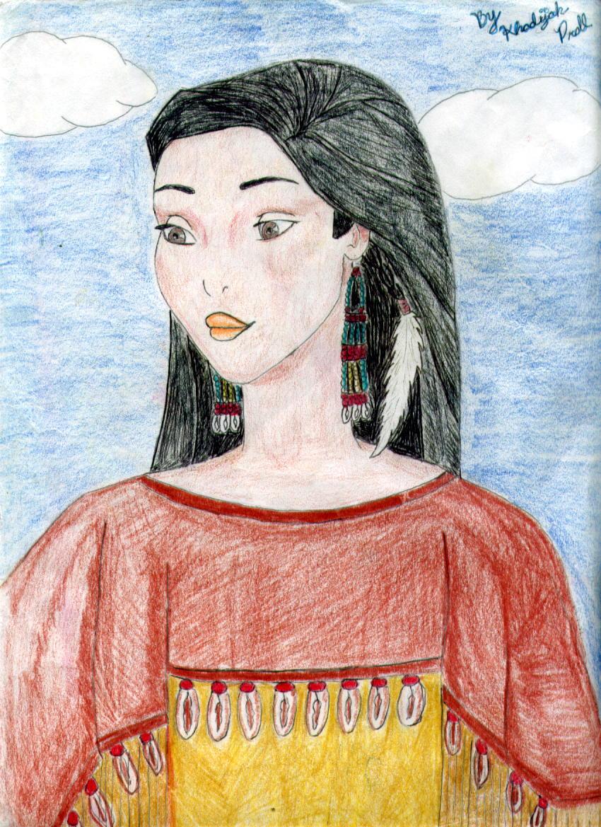 Pocahontas by Blue_Starfire