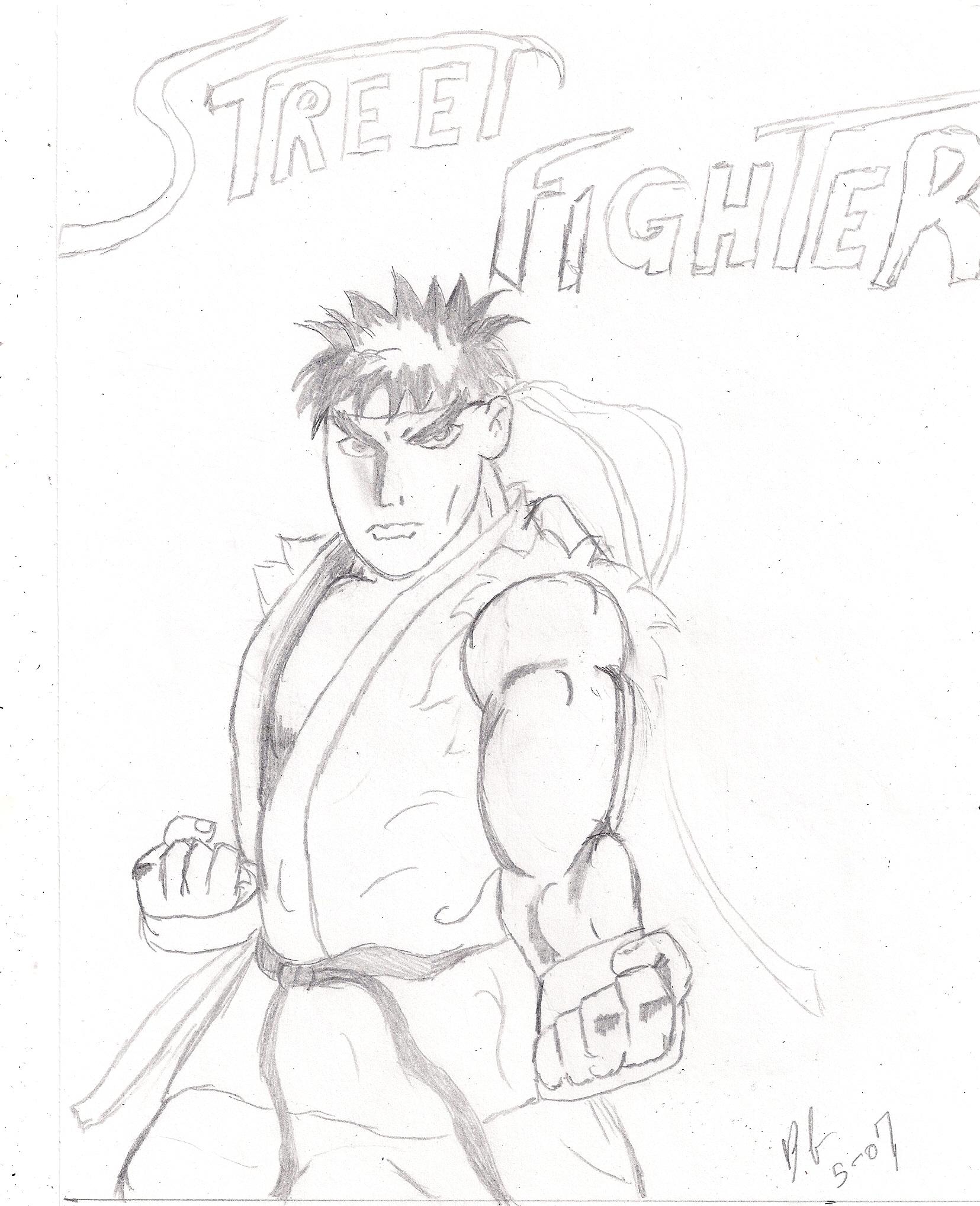 Ryu by Bobby77