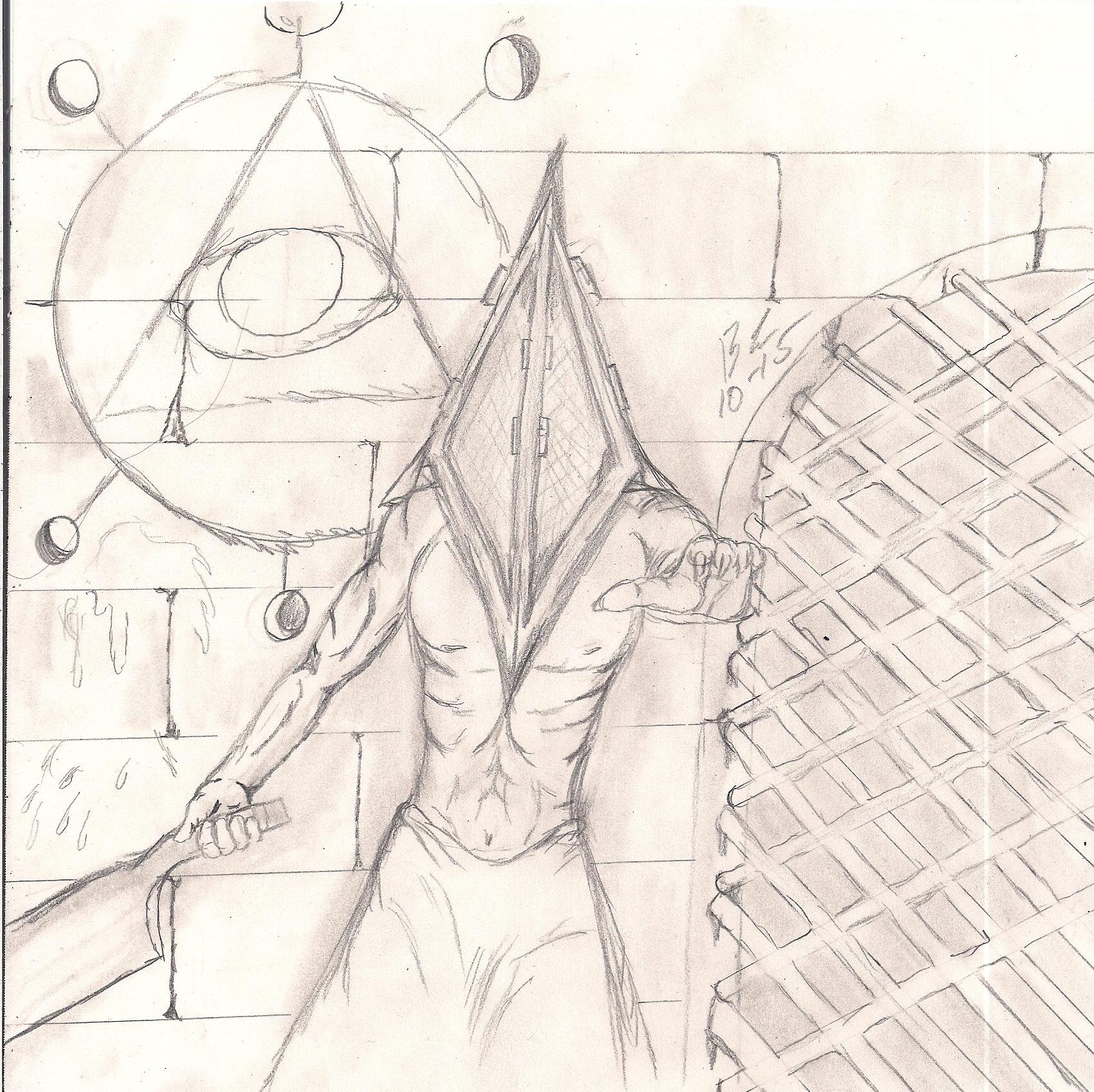Pyramid Head by Bobby77